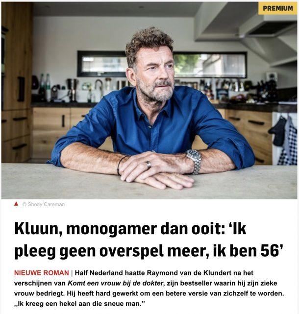 Kluun interview algemeen dagblad